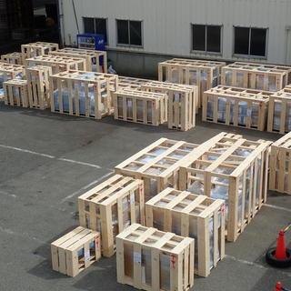 木枠梱包からのバンニング☆彡