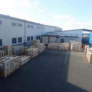 家具の輸出梱包☆彡 40fバンニング‼