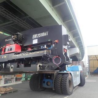 工作機械の輸出‼☆彡