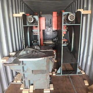 工作機械の輸出☆彡  40fバンニング‼