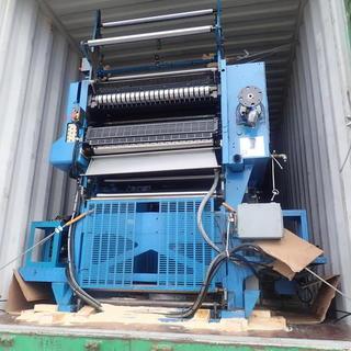 印刷機械のバンニング☆彡  空間の活用‼