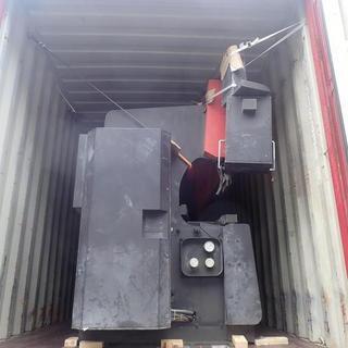 工作機械のバンニング☆彡 ドライコンテナ‼