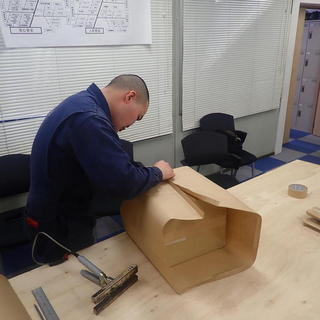 モンゴル実習生☆彡 工業包技能検定 練習風景‼