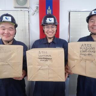 工業包装技能  実技基礎試験☆彡  モンゴル実習生‼