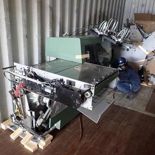 印刷機械バンニング☆彡  空間の活用‼