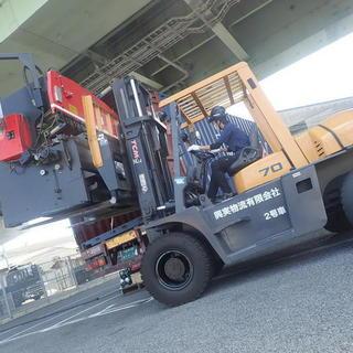 工作機械バンニング☆彡  リフト技術‼